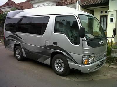 comfortabel taxi vervoer op Bali met airco