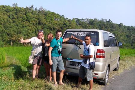 Bali dagtrips en taxiservice